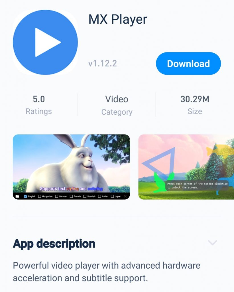 Tutuapp MX Player